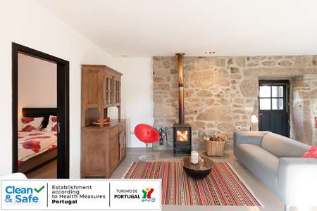 Vakantiehuis Portugal, Noord-Portugal, Ponte da Barca appartement Appartement Lindo