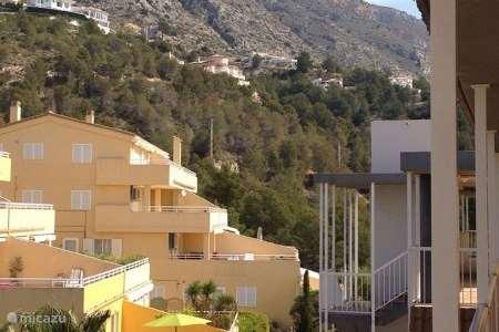 Vakantiehuis Spanje, Costa Blanca, Altea la Vieja appartement Casa Soleada Residentie las Terrasas