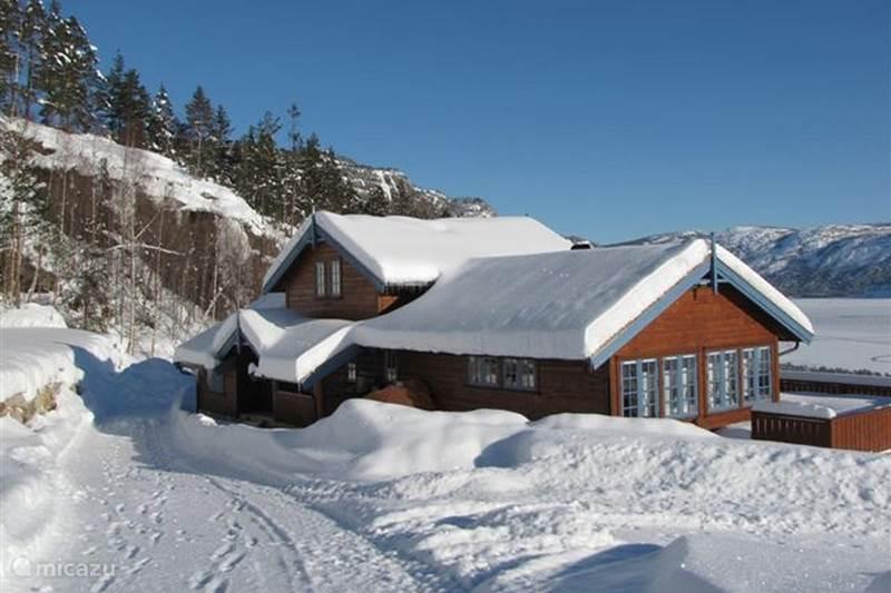 Vakantiehuis Noorwegen, Telemark, Treungen Blokhut / Lodge Nisserzicht
