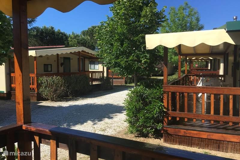 Vakantiehuis Italië, Toscane, Viareggio Blokhut / Lodge Italie, Nabij ,Zee, Pisa en Lucca