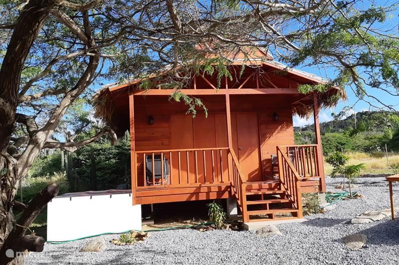 Ferienwohnung Aruba, Zentral-Aruba, Santa Cruz Blockhütte / Lodge Ecolodge