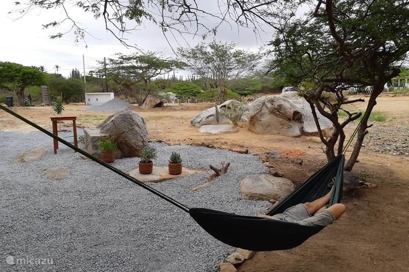 Vakantiehuis Aruba, Centraal Aruba, Santa Cruz Blokhut / Lodge Ecolodge