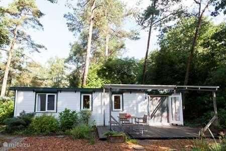 Vakantiehuis Nederland, Gelderland, Emst (Epe) chalet Rust, ruimte en roodborstjes + SAUNA