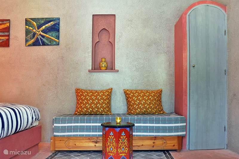 Vakantiehuis Marokko, Marrakech, Marrakech Bed & Breakfast Kamer 1. Bab Ailen (Riad Aicha - M)