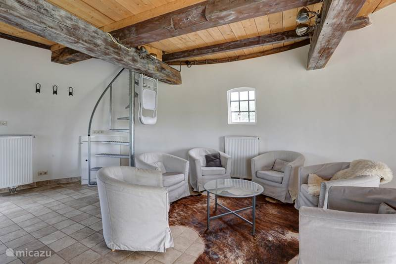 Vakantiehuis Nederland, Groningen, Tripscompagnie Molen Torentje van Trips (de watertoren)