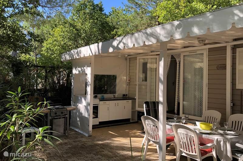 Vakantiehuis Frankrijk, Côte d´Azur, Roquebrune-sur-Argens Stacaravan Campingsuite 505 Oleander