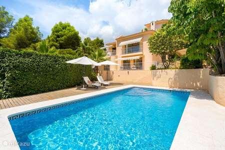 Vakantiehuis Spanje, Costa Blanca, Altea villa Villa met zwembad en super zeezicht