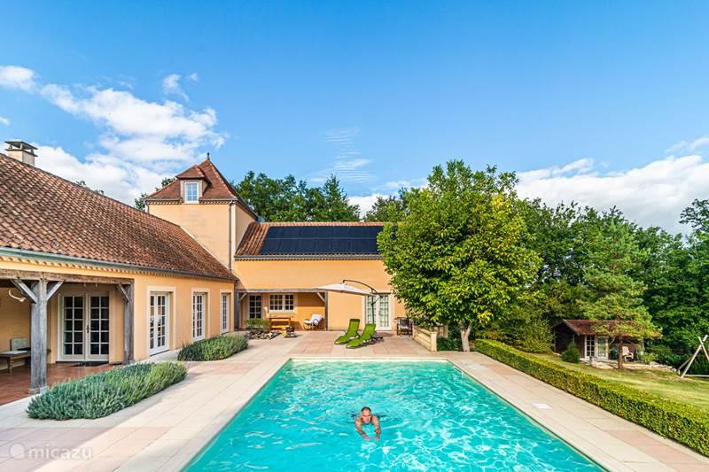 Vakantiehuis Frankrijk, Dordogne, Clermont-de-Beauregard Vakantiehuis La Grande Maison