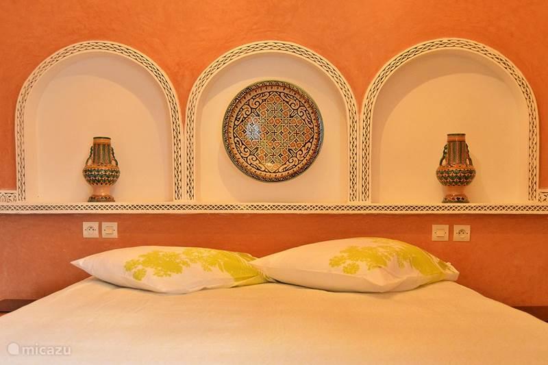 Vakantiehuis Marokko, Marrakech, Marrakech Bed & Breakfast Kamer 5. Palmeraie (Riad Aicha M)
