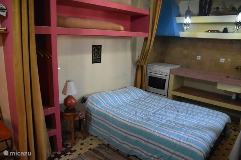 Vakantiehuis Marokko, Marrakech, Marrakech Bed & Breakfast Kamer 7. Koutoubia (Riad Aicha M)
