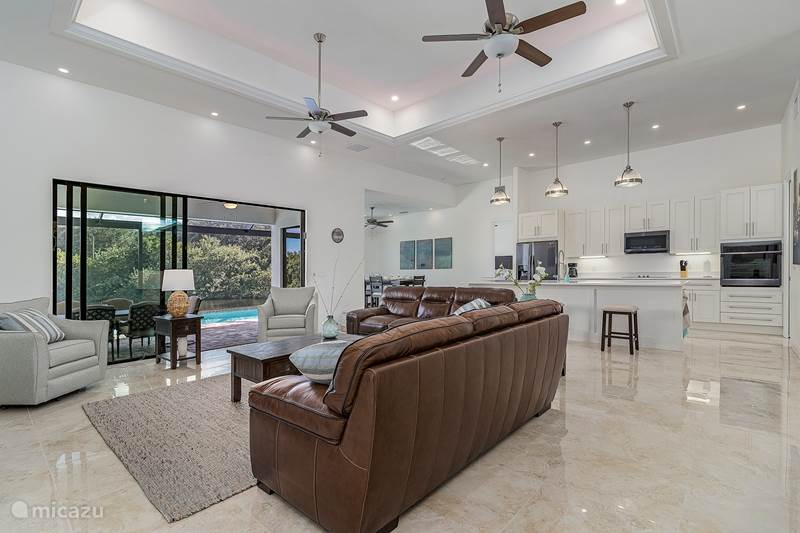 Vakantiehuis Verenigde Staten, Florida, Cape Coral Villa Holland House Oak View, Heated Pool