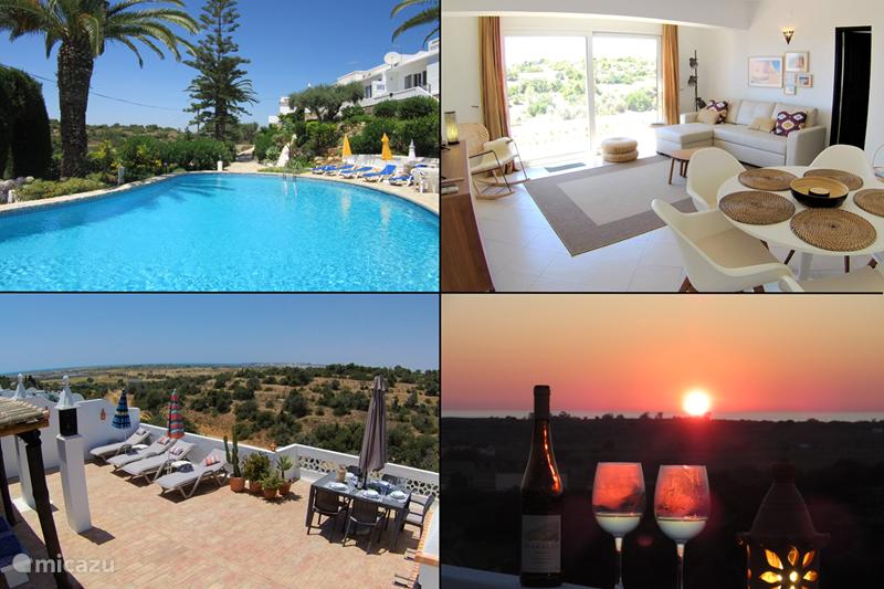 Vakantiehuis Portugal, Algarve, Guia Vakantiehuis Casa Pura Vida, fantastich zeezicht