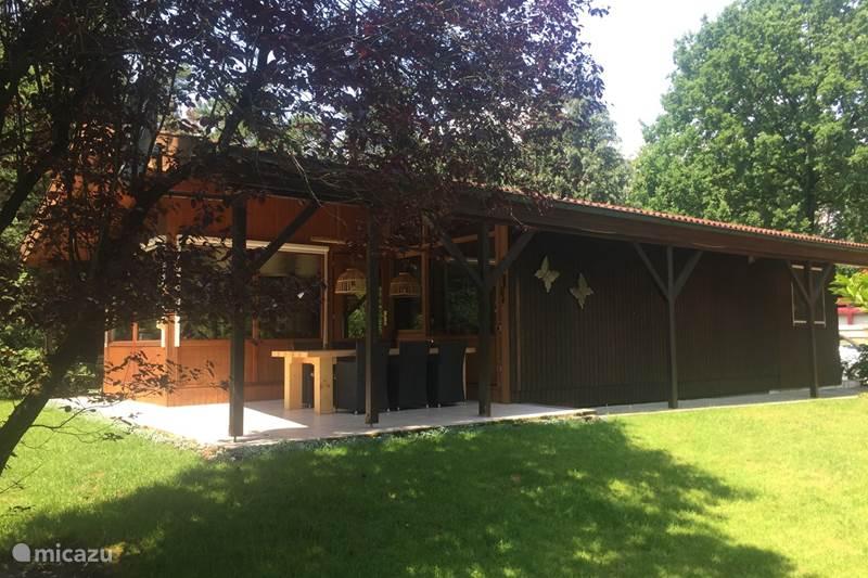 Ferienwohnung Deutschland, Niedersachsen, Uelsen Blockhütte / Lodge De Marke