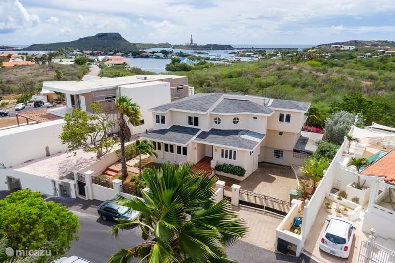 Vakantiehuis Curaçao, Banda Ariba (oost), Jan Sofat Villa 2p Deluxe Suite in Villa met zwembad