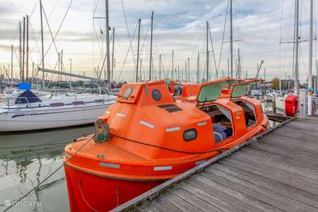 Vakantiehuis Nederland, Noord-Holland, Amsterdam - camper / jacht / woonboot PolarStern - unieke boatstay!