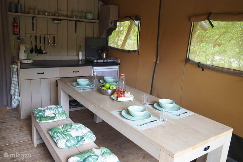 Vakantiehuis Nederland, Overijssel, Holten Glamping / Safaritent / Yurt Glamping Holten luxe safaritent 2