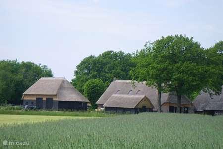 Vakantiehuis Nederland, Drenthe, Dwingeloo boerderij Gastenverblijf Lheederhof Lodge 1