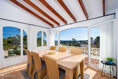 Vacation rental Spain, Costa Blanca, Moraira villa Casa Senji