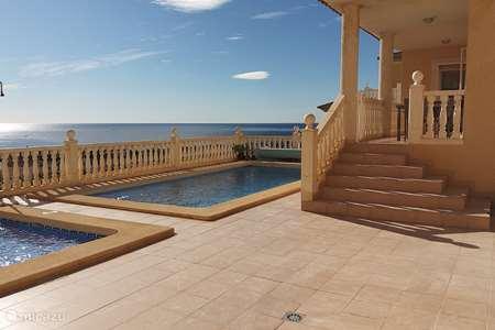 Vakantiehuis Spanje, Costa Cálida, Puerto de Mazarrón geschakelde woning Villa Cometa