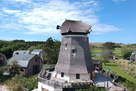 Vakantiehuis Nederland, Noord-Holland, Egmond aan Zee - molen De Koffie Molen