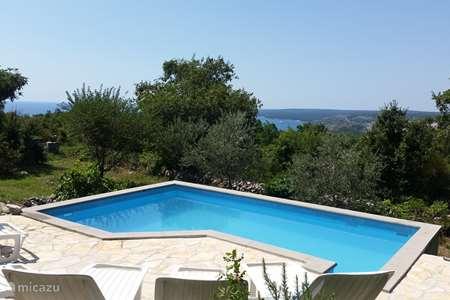 Vacation rental Croatia, Istria, Labin holiday house Sofia