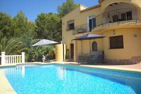 Vakantiehuis Spanje, Costa Blanca, Jalón villa Casa Marrón 4-10 personen