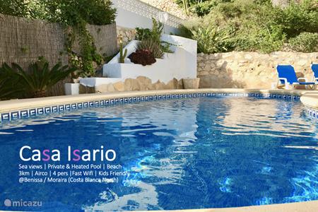 Ferienwohnung Spanien, Costa Blanca, Benissa villa Casa Isario