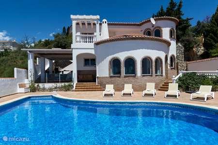 Vakantiehuis Spanje, Costa Tropical, Salobreña villa Villa Amani