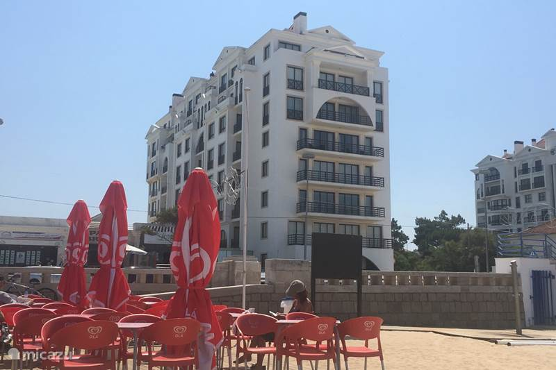Vakantiehuis Portugal, Costa de Prata, São Martinho do Porto Appartement Beachfront apt met zwembad T3