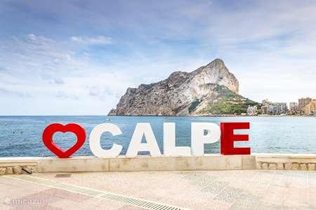 Vakantiehuis Spanje, Costa Blanca, Calpe appartement ***Appartement 'La Fossa' Calpe