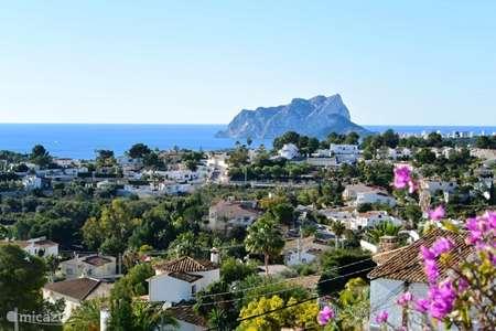 Vakantiehuis Spanje, Costa Blanca, Teulada geschakelde woning Casa Montana Park