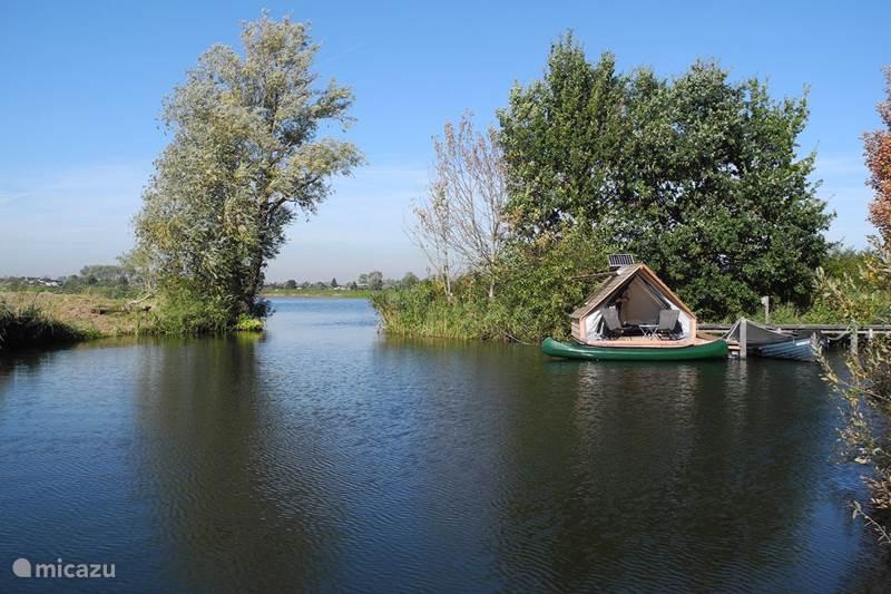 Vakantiehuis Nederland, Noord-Holland, Weesp Blokhut / Lodge Ecolodge Fort Uitermeer- Naardermeer