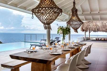 Vakantiehuis Curaçao, Banda Ariba (oost), Jan Thiel villa NIEUW Villa Baya Gentil aan zee!