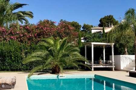 Vakantiehuis Spanje, Costa Blanca, Javea finca Casa Sueño Cumplido