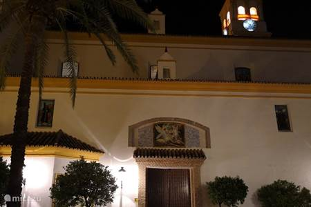 Marbella in the evening