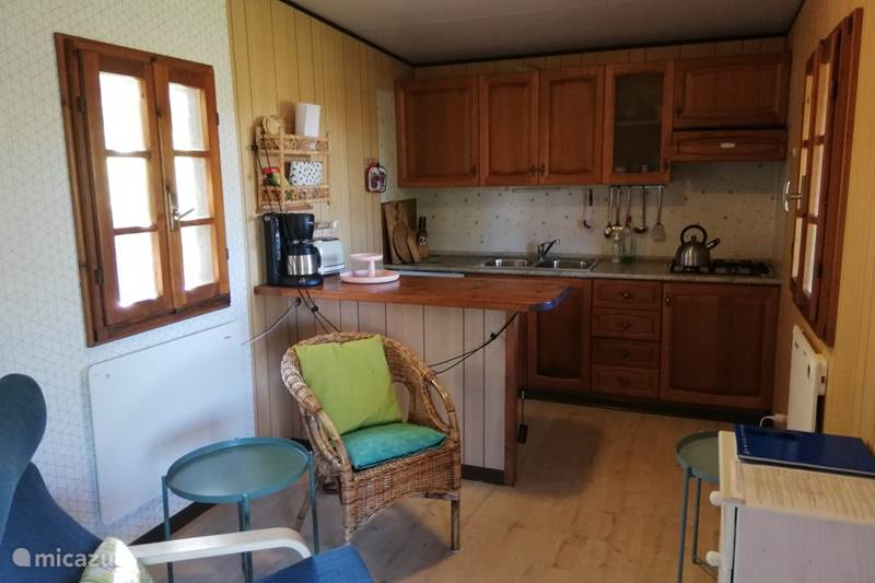 Vakantiehuis Italië, Toscane, Castelnuovo di Val di Cecina Bungalow Podere Bagnoli privé bungalow