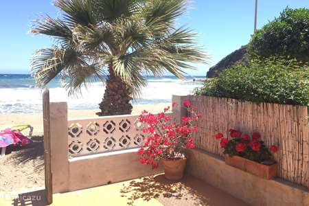 Vacation rental Spain, Costa Calida, Mazarrón terraced house Casa Anavicente on the beach.