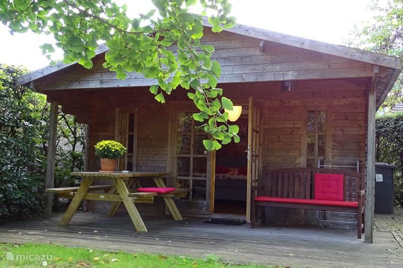 Vakantiehuis Nederland, Drenthe, Zeijen Blokhut / Lodge B&B Zeijen