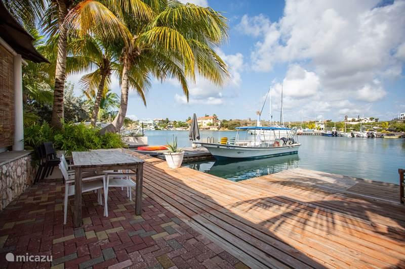 Vakantiehuis Curaçao, Banda Ariba (oost), Spaanse Water Vakantiehuis Jan Sofat 230 - Waterfront house