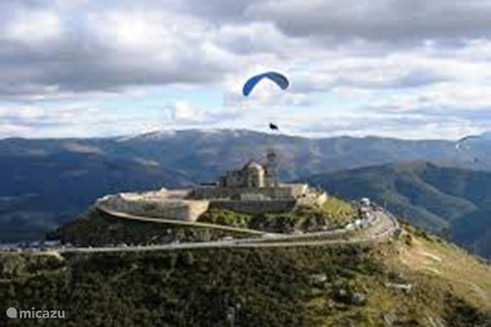 Paragliden in Modim de Basto