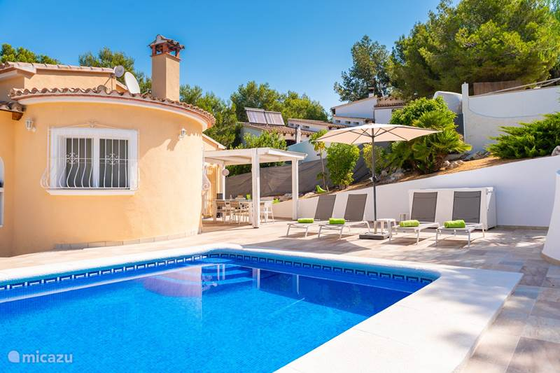 Vakantiehuis Spanje, Costa Blanca, Moraira Villa Casa Alosta