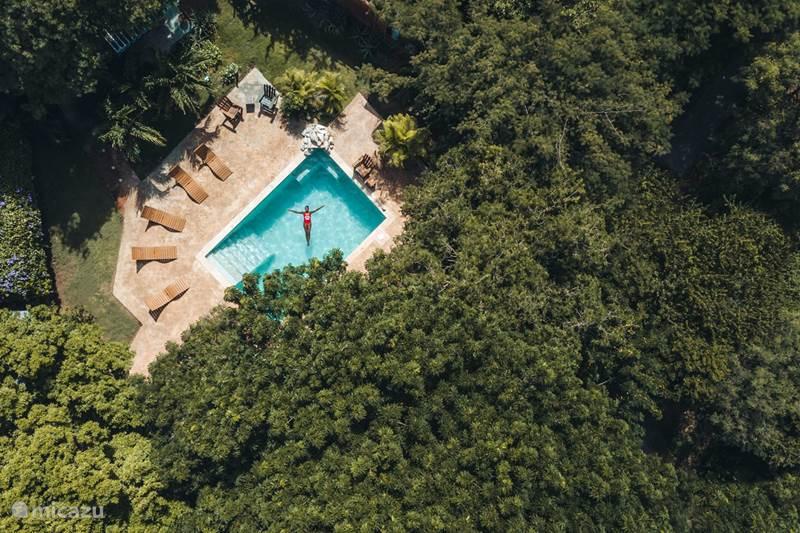 Vakantiehuis Curaçao, Curacao-Midden, Sint Michiel Blokhut / Lodge Flamingo