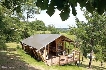 Vakantiehuis Frankrijk, Lot-et-Garonne, Bazens glamping / safaritent / yurt Petit Piquepe