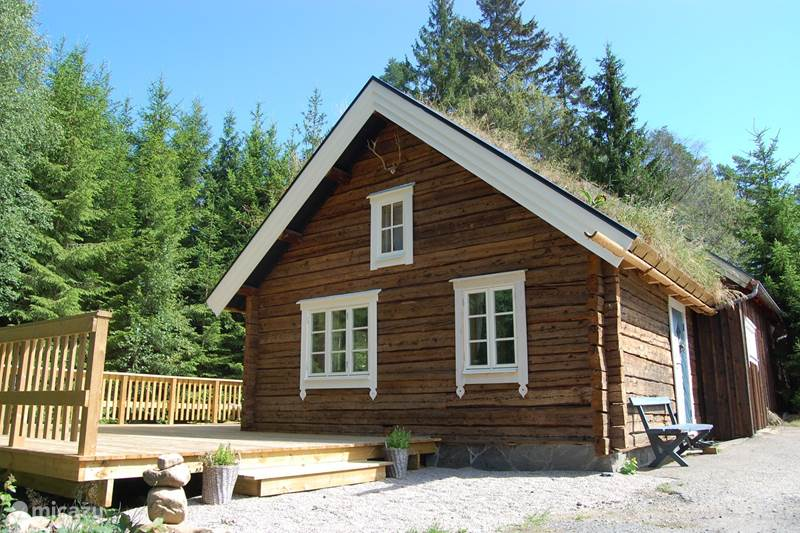 Vakantiehuis Zweden, Västergötland, Torestorp Blokhut / Lodge Lillstugan