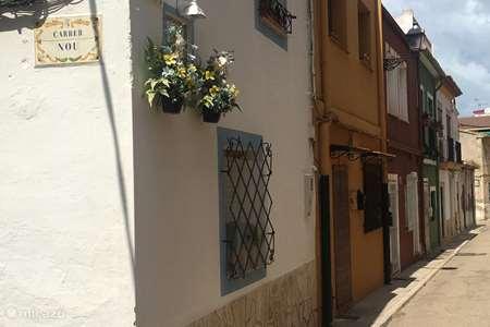 Vakantiehuis Spanje, Costa Blanca, Dénia stadswoning Heerlijke woning in hartje Denia