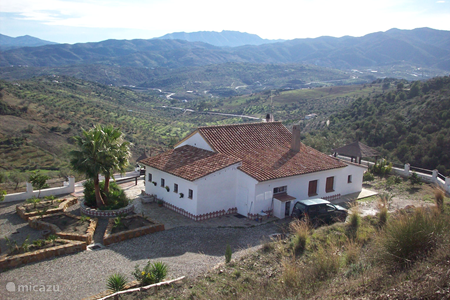 Vacation rental Spain, Andalusia, Tolox manor / castle Ginoux