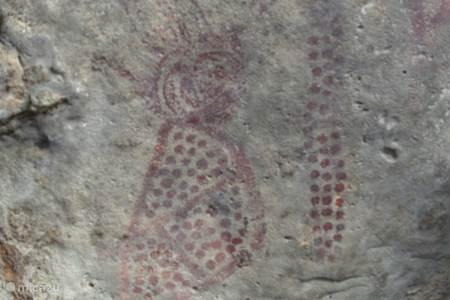 Prehistorische rotstekeningen