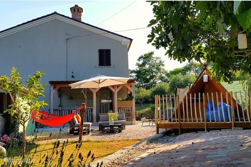 Vakantiehuis Italië, Marche, Cingoli Boerderij A Casa Cingoli Tutto Famiglia