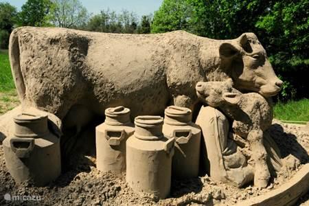 Kasteel Warmelo en de zandsculpturen