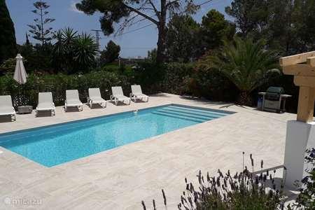 Vacation rental Spain, Costa Blanca, Javea villa Casa Belle